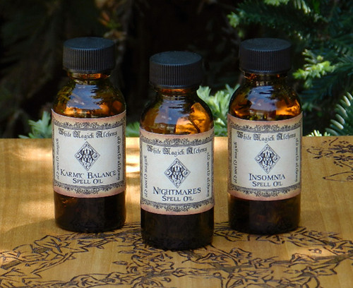 Wiccan Spell Oils Ritual Healing Love
