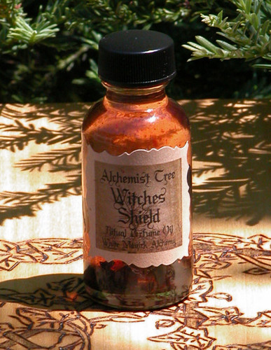 "Witches Shield ""Alchemist Tree"" Ritual Perfume Oil . Protection from Evil, Psychic Vampires, Self Defense"