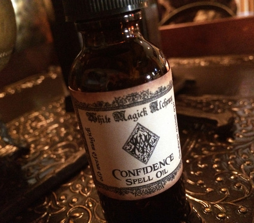 CONFIDENCE Spell Oil. Strength, Courage, Self-Love, Victory