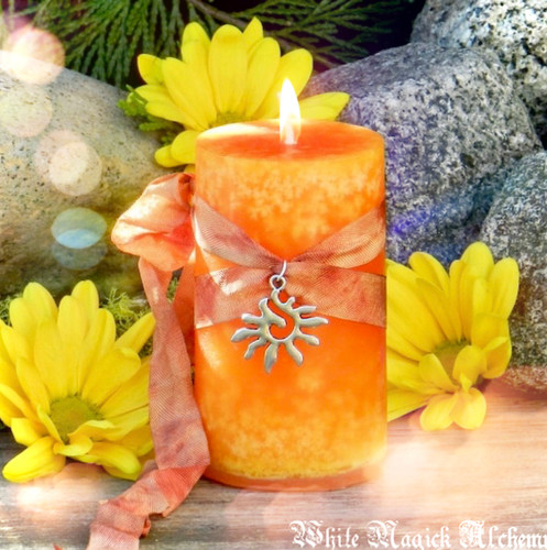 Solstice Candles