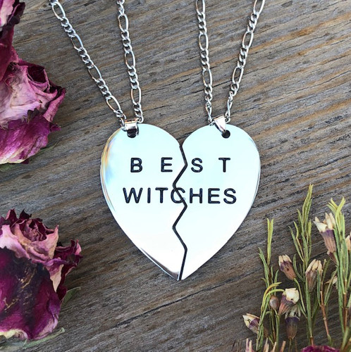 Best Witches Pendant Necklaces for Honoring & Celebrating Close Friendships