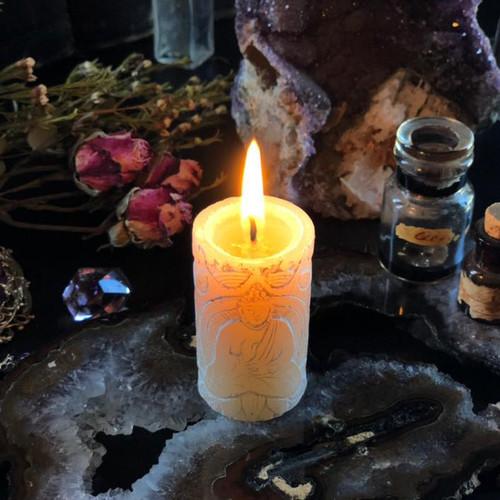 Antique Jasmine Meditation Candles with Vintage Jasmine