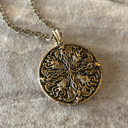 Viking Amulets Norse Jewelry for Men and Women Sterling, 24K Gold, Gold, Renaissance Jewelry