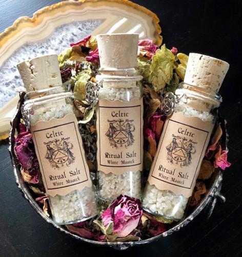 Celtic Ritual, Celtic Salt, Ritual Salts, Protection Salts, Voodoo Salts, Salts for Protection Circle