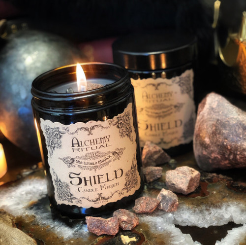 Shield Wall Spells and Protection Rituals, Shield Wall Candles