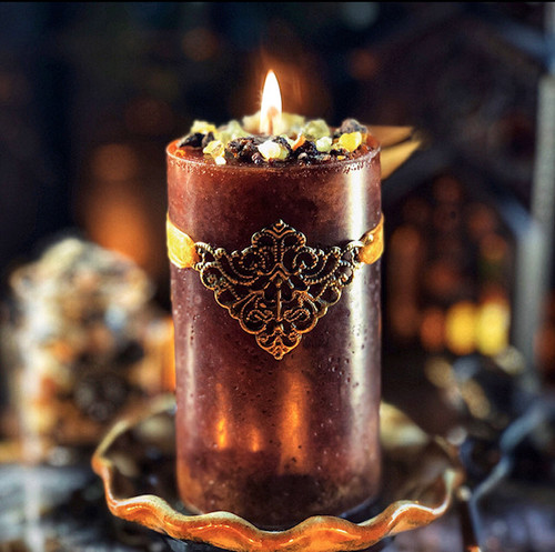 Frankincense & Myrrh Candles for Peaceful Blessings, Love, Healing & Abundance