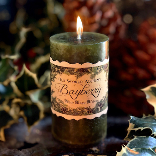 Bayberry Candles for Christmas