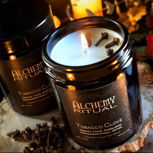 TOBACCO CLOVE CANDLES