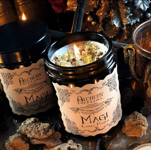 Frankincense and Myrrh Candles