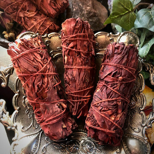 Dragons Blood and Sage Smudge Wands