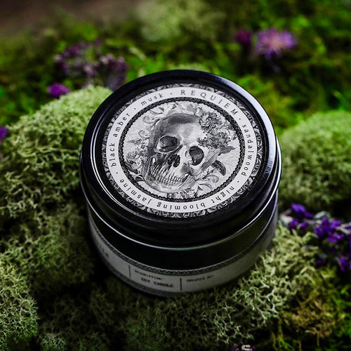 Requiem Ritual Candles NOIR Travel Tin