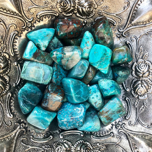 Gemstones for Love Chyrsocolla