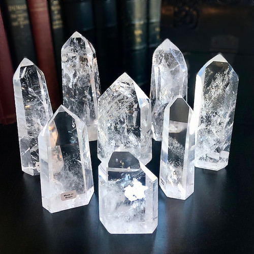 LEMURIAN SEED CRYSTAL POINTS