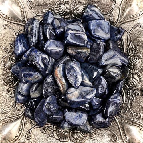 Dumortierite Tumbled Gemstones