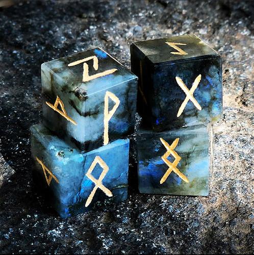 Labradorite Rune Squares