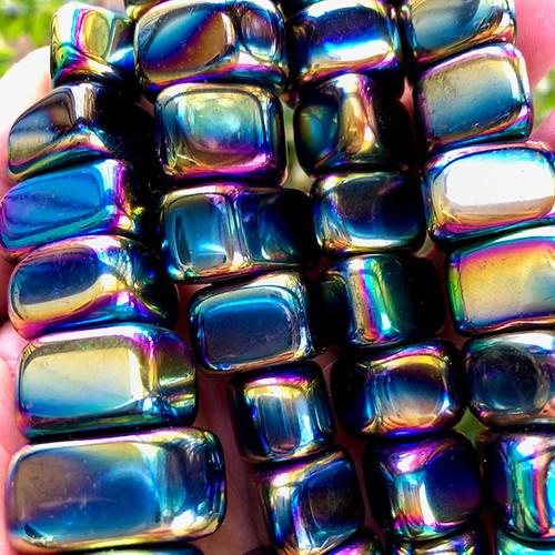 Rainbow Hematite Magnetic
