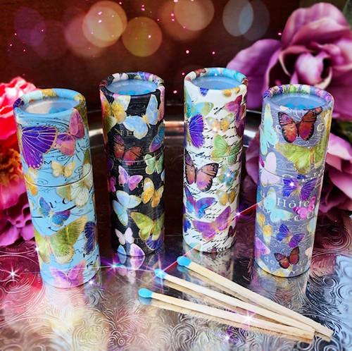 Butterfly Matchbox Tubes