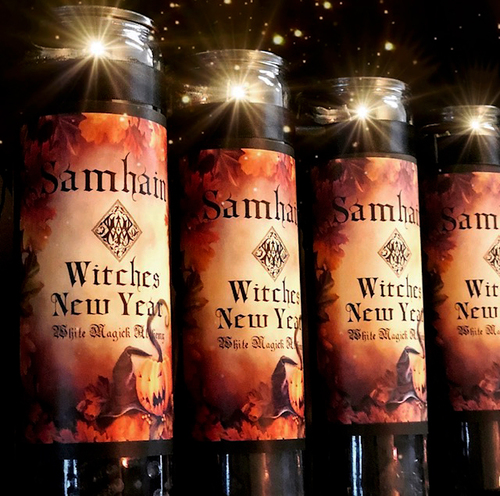 Samhain Candles Season of the Witch