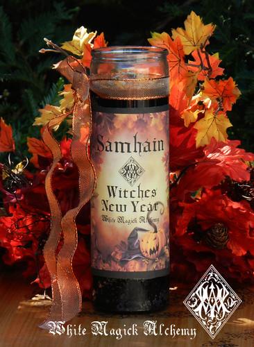 Samhain Ritual Candles