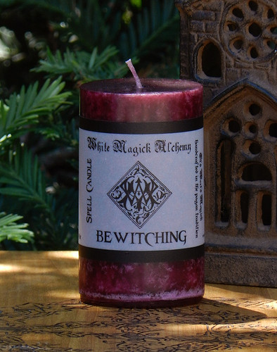 BEWITCHING Spell Candle . Enchanted Witchery, Love, Attraction, Lust and Love Spells . Keep Love from Wondering
