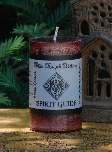 SPIRIT GUIDE Spell Candle . Call Upon Your Spirit Guides During Spell and Ritual Workings