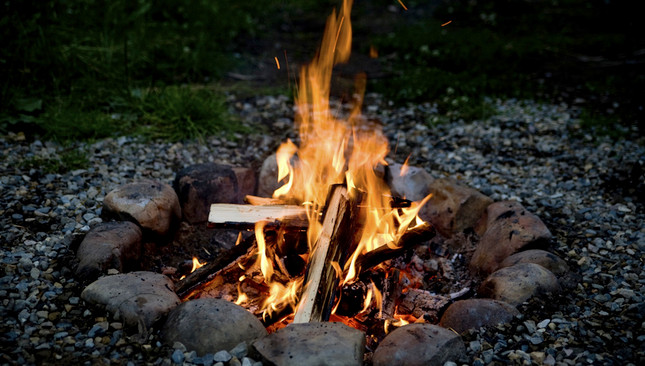 Nine Sacred Woods and the Fires of Beltane