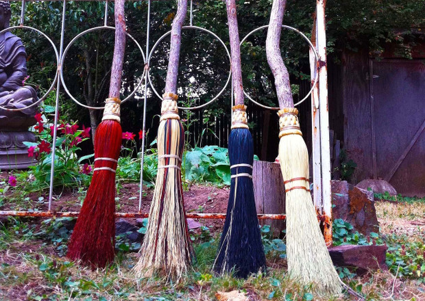 Our Witch Brooms are Back in Stock