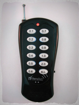 RFRemotech TCF200-12LNX Sequence remote
