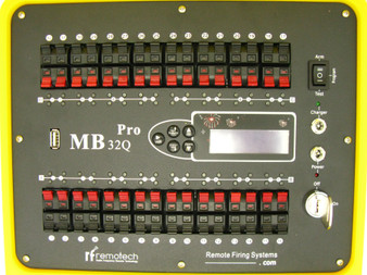 MB32Q Pro Programmable Fireworks Firing System