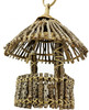 The 3175 Tiki Round is a beautiful gift for your friends and family. The Tiki Round is a classic looking tiki-style hut. The roof of the 3175 is made of twigs of wood that are bundled together to form a round top.