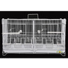 King's Cages C2416 White Double Breeding Cage.