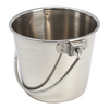 The 3507 Half Pint Bucket from Bonka Bird Toys is a charming small sized stainless steel pail for you and your small sized pet bird! This small bucket looks great.
