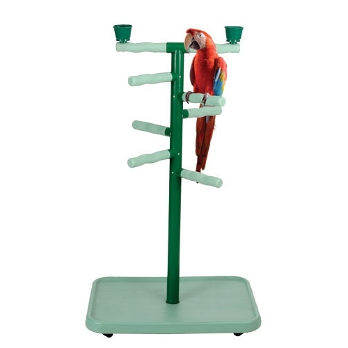 Model PP 103. Kings Cages plastic playpen, a great playstand for Amazons, Macaws and Cockatoos.