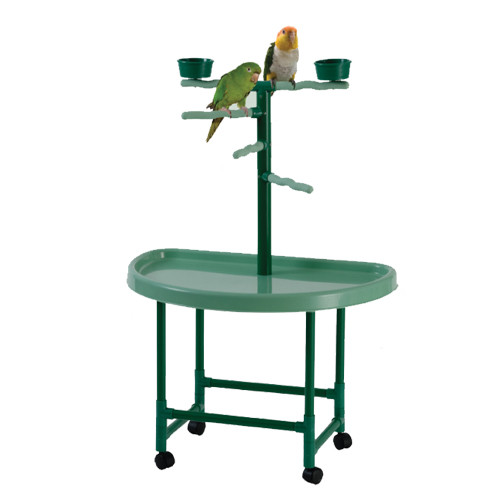 Model PP 101. Kings Cages plastic playstand, great for all Cockatiels, Conures and similar sized birds.