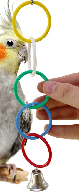 36459 Rings is the perfect toy for that busy little feathered friend in your family.