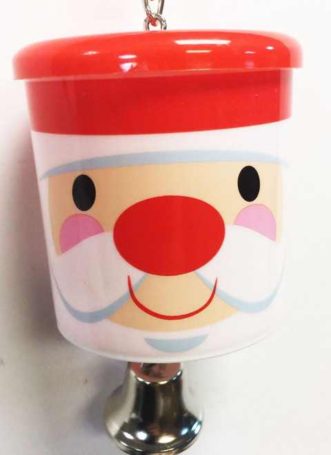 90003 Christmas Santa treat cup is the festive answer when feeding your medium-sized feathered companion.