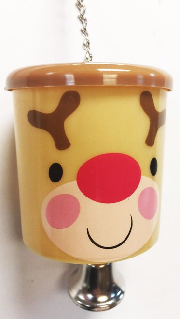 90002 Christmas Rudolph treat cup is the festive answer when feeding your medium-sized feathered companion.