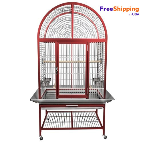 REVOLUTIONARY NEW ALUMINUM CAGES  *LIMITED QUANTITY AVAILABLE  NO more chipping paint, NO more rust, Okay For Outdoor Use!