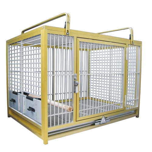 Kings Cages GOLD ATM 2029 Aluminum Travel Carrier. 20X28X20