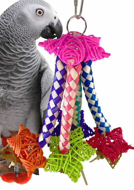 1998 Shooting Star is overloaded with foraging fun for your medium to large sized feathered friends.