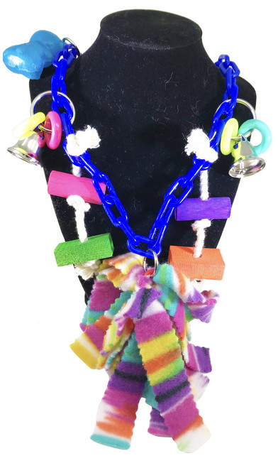 The 1550 Charm Climber is a versatile toy with loads of different items attached to it that can be hung in many different ways. There are tons and tons of different items on this toy, check them all out!