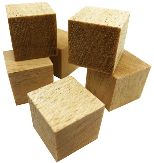 The 2078 pk6 1 Inch Balsa Cubes is a great foot toy to surprise your pet bird with! 2078 has six cubes that are ready to be chewed, foraged and played with. The cubes are uncolored and have a very appealing, clean natural color and look.
