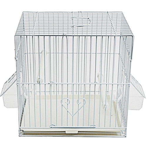 King's Cages C10X7 White Canary Cage.