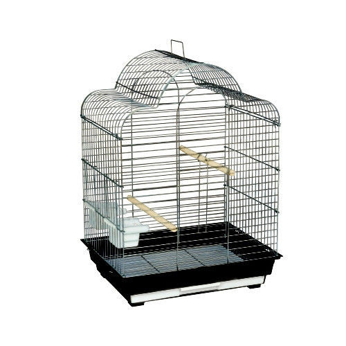 Kings Cages 2016 T Triple top bird cage for cockatiels, finches, parakeets, canaries, and lovebirds.