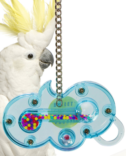 0003 The Wave Bird Toy, this toy has a bunch of beads which move from one end to the other through a narrow channel inside the toy.