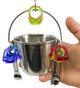 1055 Small fun bucket is a useful and playful bird toy for those small to medium-sized feathered friends in your family.