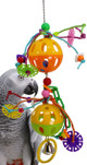 964 Duo Bizzy Ball has plenty of pulling and tugging power to keep your bird busy and entertained for hours.