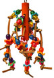 1545 Wiggle Wood, a colorful beak sensation, your small to medium-sized feathered friends will just love to climb, pull and chew over this explosion of color.