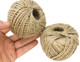 Have a need for lots of twine for your feathered friend? The 2057 pk2 390 ft Natural Twisted Jute Twine is just what you'll need! The 2057 comes with two rolls.