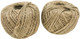Have a need for lots of twine for your feathered friend? The 2057 pk2 250 ft Natural Twisted Jute Twine is just what you'll need! The 2057 comes with two rolls.